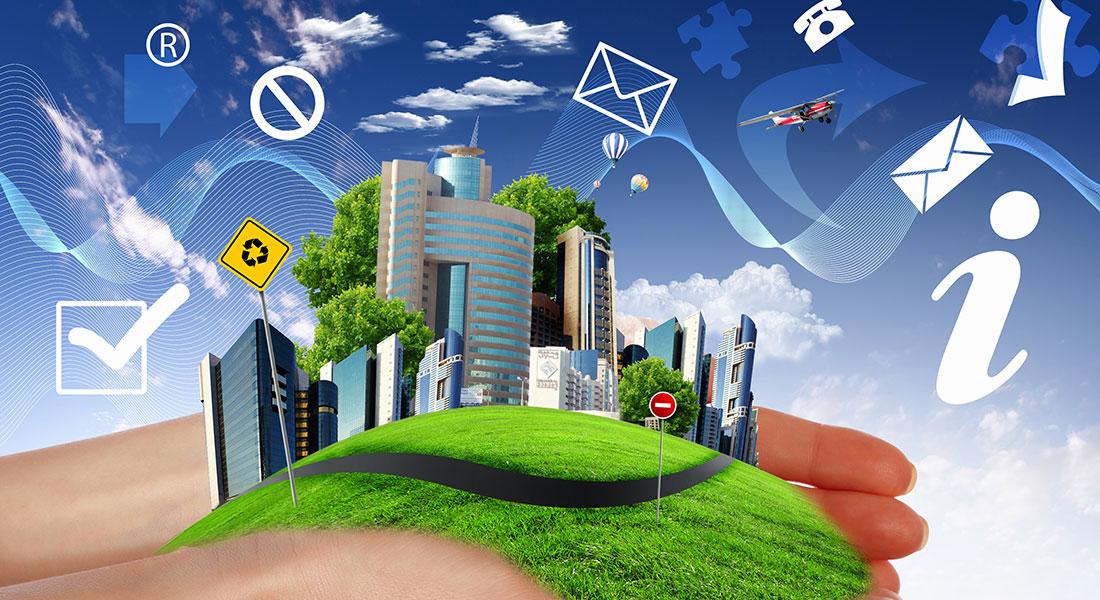 Green environment. Photo: Colourbox